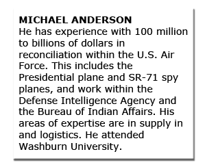 Independent Committee MICHAEL ANDERSON